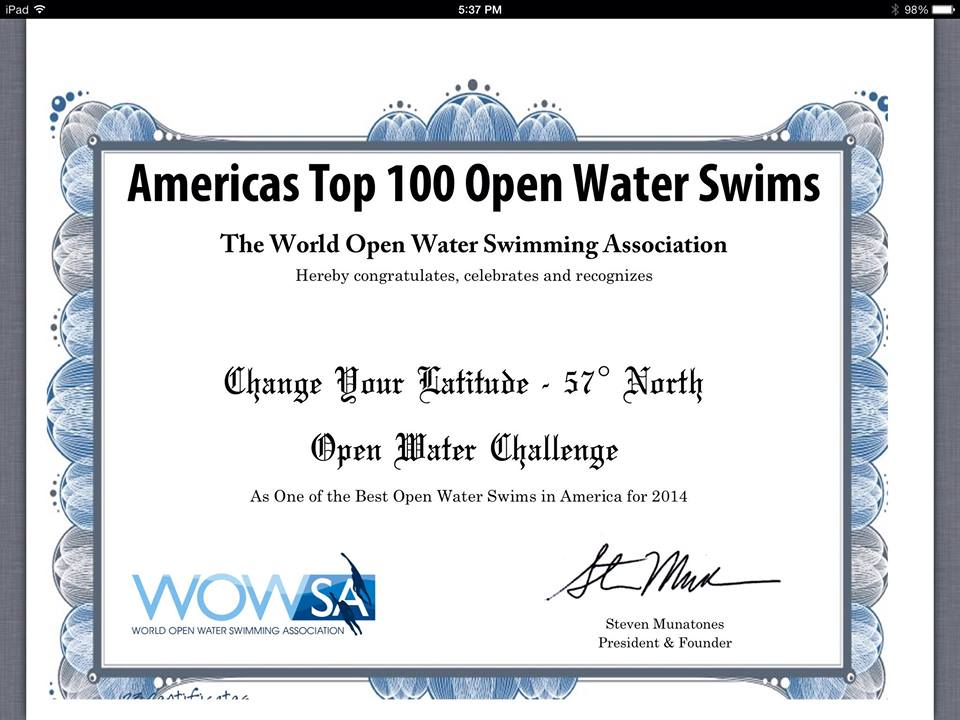 Americas Top 100 Open Water Swims