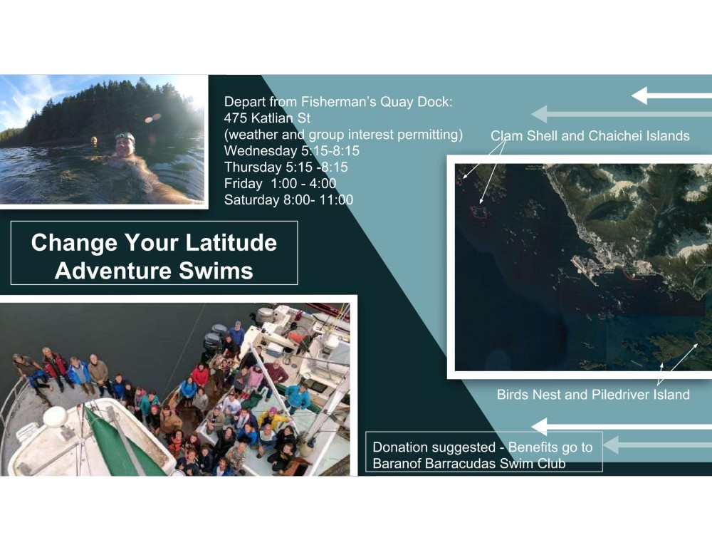 Adventure Swim flyer